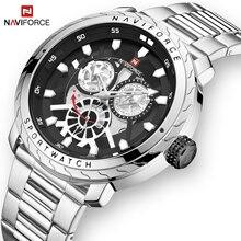2019 Naviforce Mens Watch Luxe Quartz Sport Waterdichte Militaire Horloge Creatieve Klok Volledige Steel Horloges Relogio Masculino