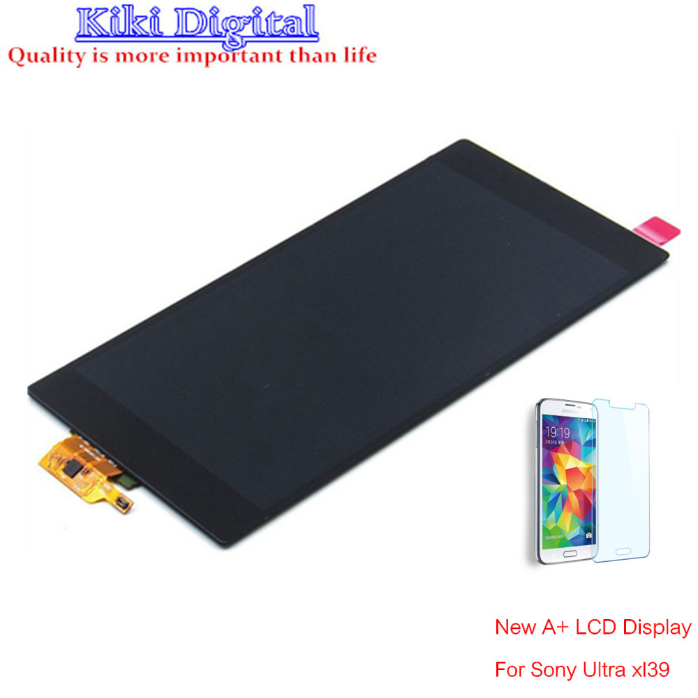 WOJOQ Original LCD For Sony Xperia Z Ultra XL39h XL39 C6802 C6806 C6843 LCD Display + Touch Screen digitizer