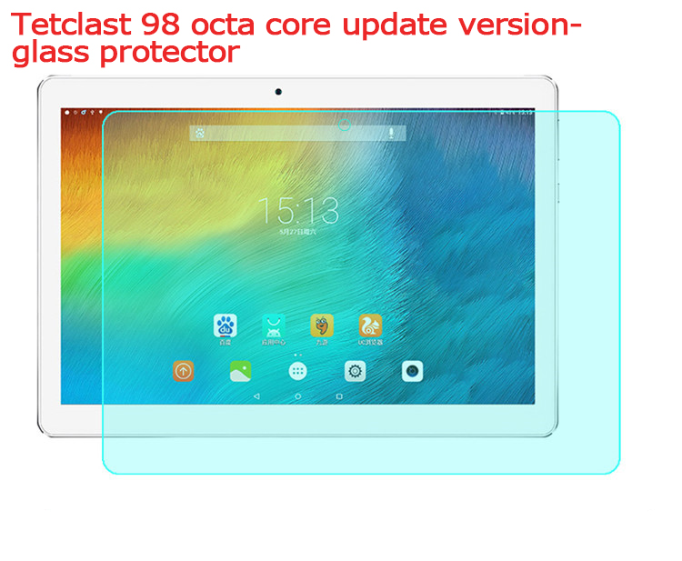 9H Tempered Glass Screen Protector For Teclest 98 Octa Core update version 10.1