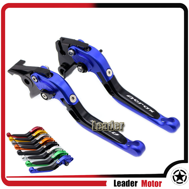 For YAMAHA Aerox 155 2017 2018 Aerox155 folding extendable left right brake levers