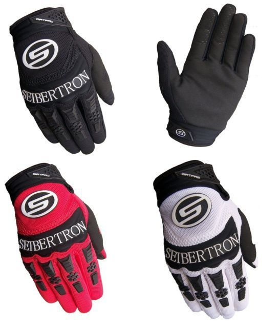 2013 SEIBERTRON Racing Adult Dirtpaw Race Gloves Motocross Atv Bmx Off Road MTB