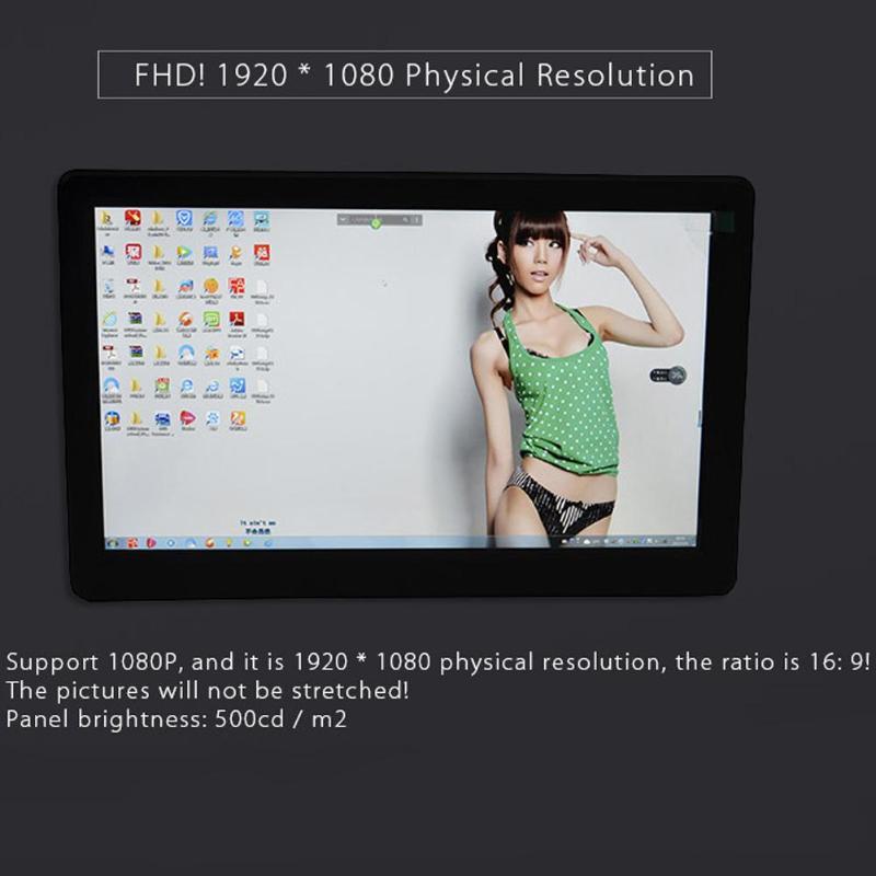 Moniteur Portable 10 pouces FHD 1080P HDMI PS3 PS4 Xbo x360 1080P IPS moniteur de écran LED lcd pour Raspberry Pi/Mac mini/Will U