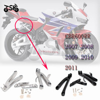 For HONDA CBR 600 RR CBR 600RR 2007 2008 2009 2010 2011 Foot Peg Rear