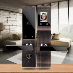 Image 4 - Keyless חכם intelligent נעילת Palmprint פנים זיהוי פנים דלת מנעול לבית משרד מנעול אבטחת בקרת גישה