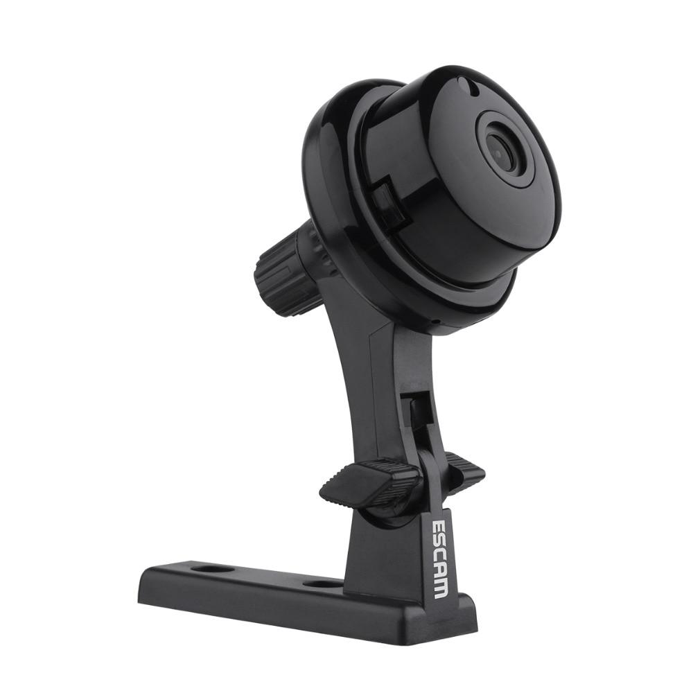 bilder für ESCAM Taste Q6 Ip-kamera Wifi Drahtlose Mini Kamera ONVIF CCTV Home Security Innenkameras Nachtsicht WI-FI IP Cam schwarz
