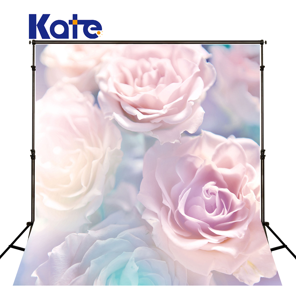 Kate Pink Flower Wall Backdrop Outdoor Wedding Photography Backdrops Spring Photography Backdrops Large Size Seamless Photo 857 seamless nail wedding photo frame wall paintings hook the real invisible