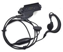 XQF ווקי טוקי אפרכסת אוזניות מיקרופון PTT למוטורולה נייד רדיו GP900 GP1200 XTS2000 XTS2500 XTS3000 HT1000 JT1000 חדש