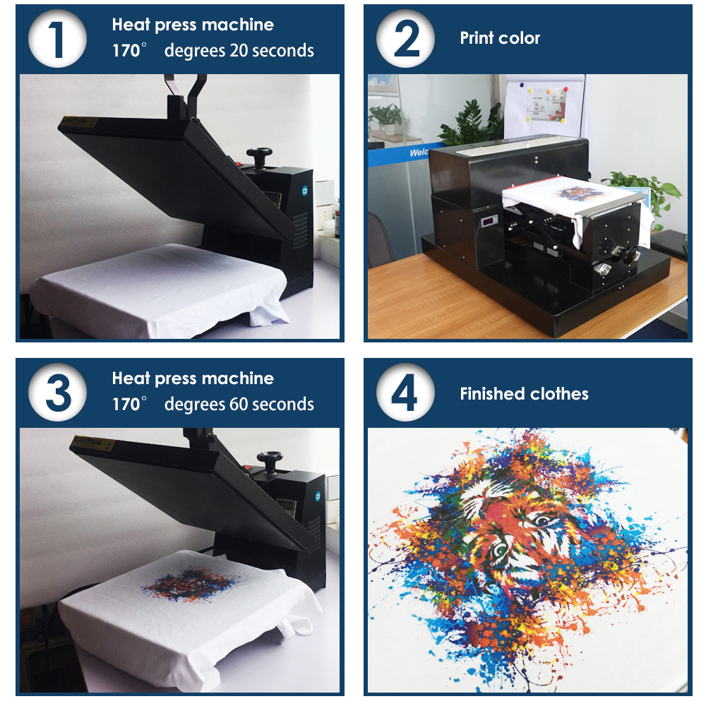 Multifunctional A4 size flatbed printer machine for print CD /DVD - Office Electronics - Photo 6