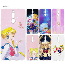 Cover Cases for Huawei Mate 10 20 P10 P20 P30 Honor 9 10 Lite Pro P Smart 2019 Sailor Moon Manga Anime Cartoon Coque Case(China)