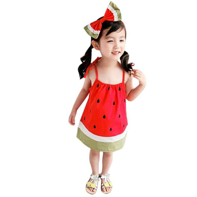 6a3ba486b2fdc Detail Feedback Questions about Girl Dress Lovely Watermelon Dress ...