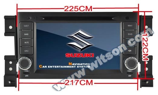 "WITSON 3G SPECIAL 7 "" 2 DIN SUZUKI GRAND VITARA Car DVD Player with GPS BLUETOOTH RDS IPOD +Free Shipping+Free Map"