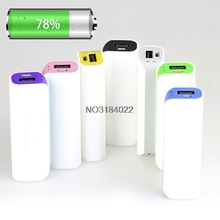 Portable 2600mAh USB 1 x 18650 External Battery Case Charger Power Bank DIY Box #4XFC# Drop Ship
