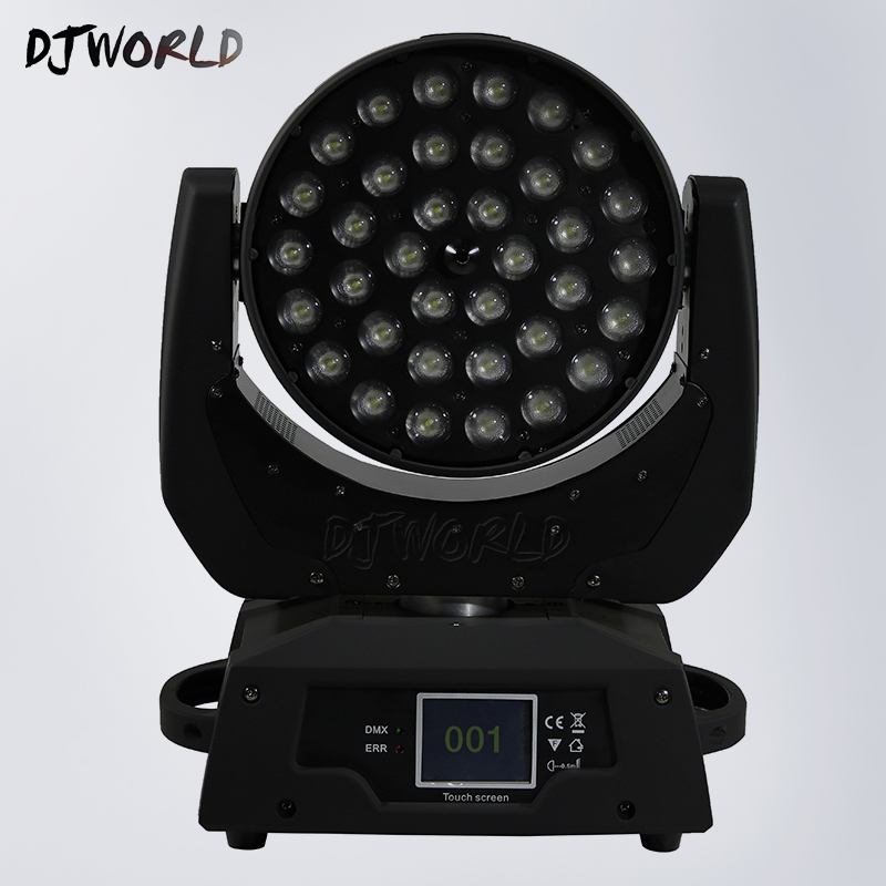 36X18w RGBWA+UV 6IN1 LED Wash Zoom Moving Head Lighting DMX512 Effect Stage Lighting christmas decorations halloween decoration