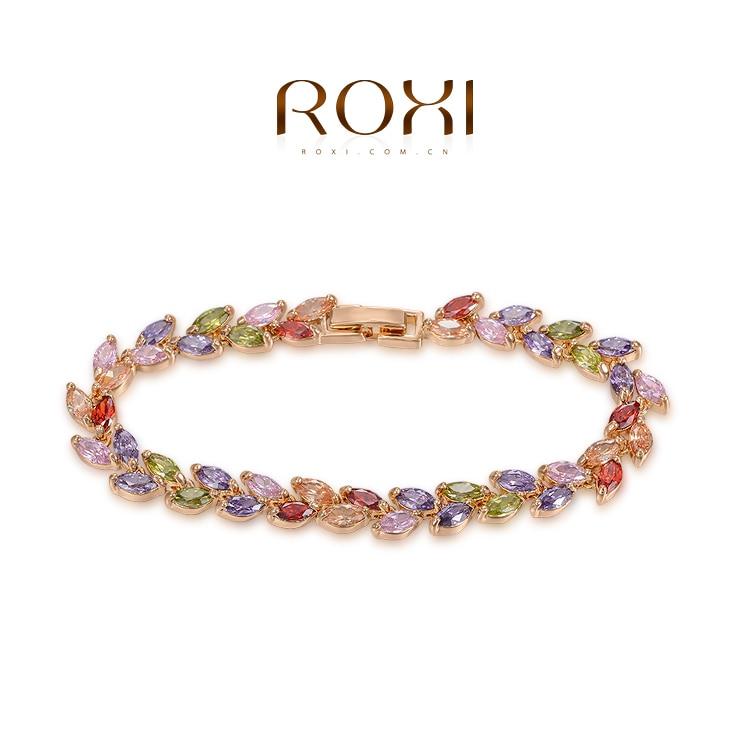 ROXI Fashion Rings gold plated font b trendy b font jewelry wedding gift Austrian crystal fashion