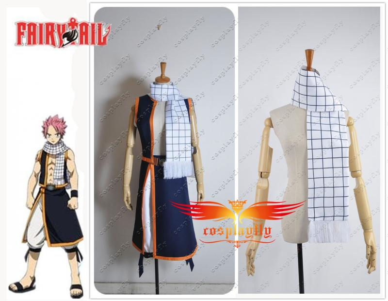 Free Shipping HOT Fairy Tail Natsu Dragneel Scarf Only For Cosplay Costume 150cm Length One Size In Stock Gift For Boyfriend