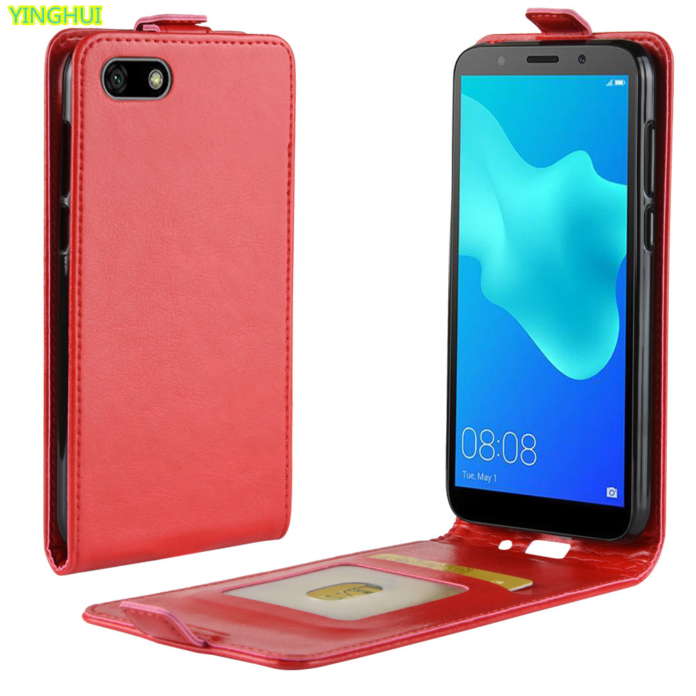 Honor 7A Case Honor 7A DUA-L22 Case 5.45 Luxury Wallet PU Leather Back Cover Case For Huawei Honor 7A Honor7A Russian Version