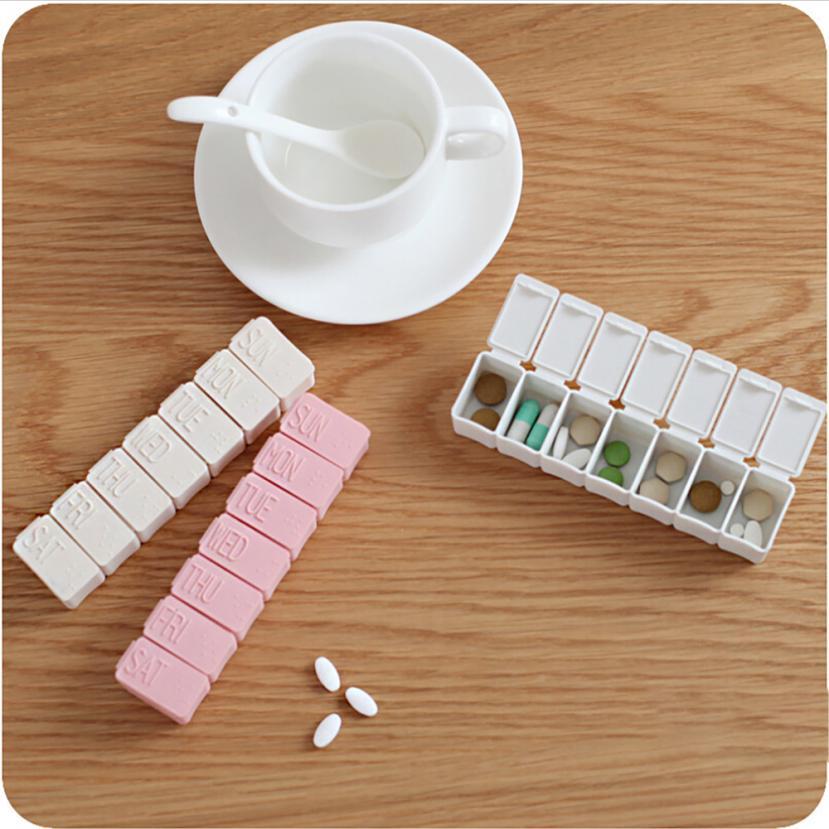7 день Еженедельный Pill коробка для хранения Организатор Еженедельно Pill Медицина Box держатель для хранения Организатор Контейнер Дело Путеш...