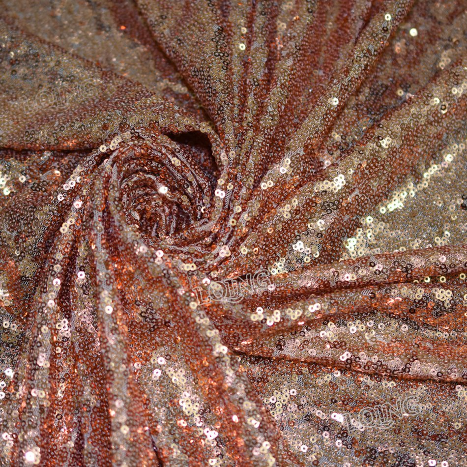 rose gold sequin fabric-14