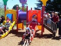Экспортируется в Австралии открытый Детские площадки антикоррозионные железной Сталь Пластик Детские площадки Набор парк slidehz 5403