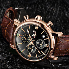 2019 LIGE Business Leather Fashion Waterproof Quartz Watch For Mens Watches Top Brand Luxury Male Date Clock Relogio Masculino(China)