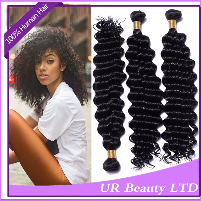 Hot Bella Dream Hair Weave Virginhair Deep Curly Wave4 Pcs 5a