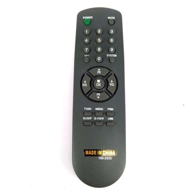New Replacement 105 230D 105 230M For ZENITH For Goldstar TV Remote Control Fernbedienung
