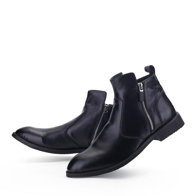 KLYWOO Neue Martin Stiefel Für Männer Herbst Winter Leder Stiefeletten  Männer Mode Britischen Cowboy Stiefel Casual Männer Schuhe Bequem in KLYWOO  Neue ... 7561300413