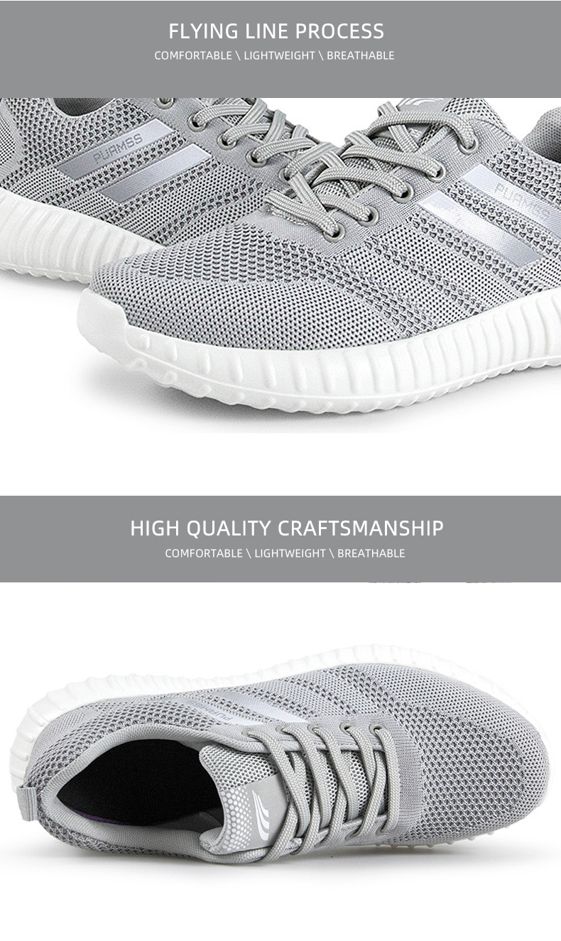 Brand Men Shoes Lightweight Breathable Men Casual Shoes High Quality Men Footwear Mesh Outdoor Sneakers Zapatillas Hombre