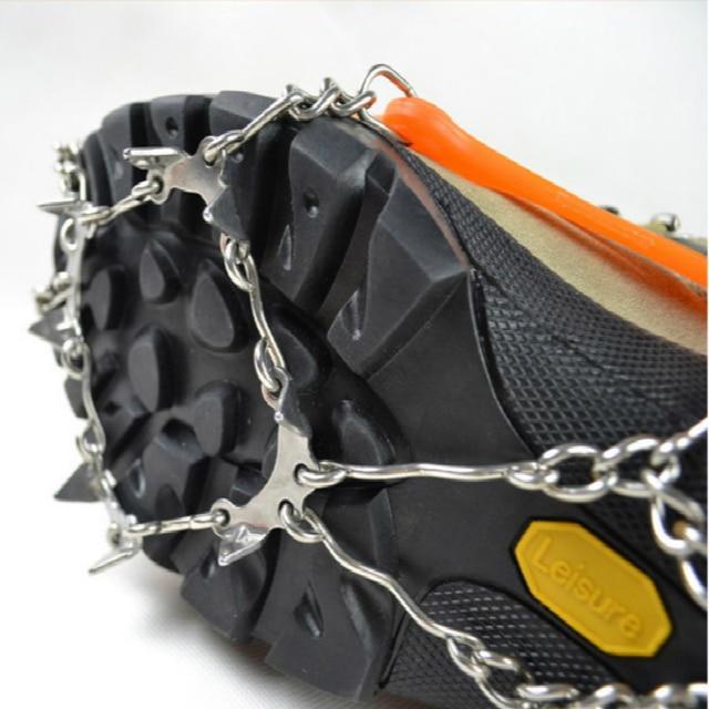 Edulliset jääketjut kenkiin