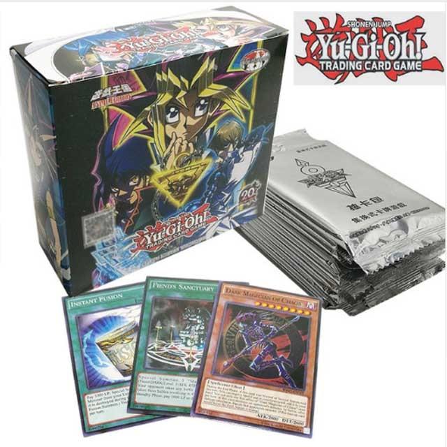 288 pièces/ensemble Anime japon Yu Gi Oh jeu cartes Carton Yugioh jeu cartes japon garçon filles yu-gi-oh cartes Collection pour le plaisir