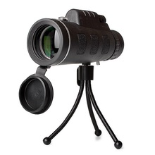 Lensa Kamera Ponsel 40X Teleskop Telephoto Lensa dengan Klip Telepon Tripod untuk Samsung Iphone LG Smartphone Android Lensa