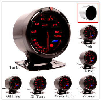 Boost Gauge 60 mm for BMW E 30 34 36 38 39 46 53 60 82 83 87 90 92 F 11 20 Auto Boost Pointer turbo pressure Meter saat image