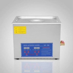 Image 5 - 15L قوي الفولاذ المقاوم للصدأ 15 لتر لتر بالموجات فوق الصوتية الأنظف 760 واط سخان رقمي الموقت بالموجات فوق الصوتية الأنظف آلة