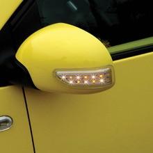 2 шт. универсальный авто зеркало заднего вида свет 13 светодио дный двери лампы поворотники лампы DC12V поворотах лампы автомобиля декоративные свет