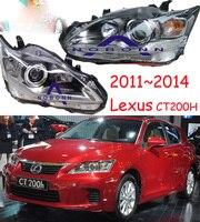 2010 ~ 2014, автомобильный Стайлинг для lexuz CT200H все гольфкарты оснащены HID, CT200H, GS350, GS430, GS460, GX460, RX300, RX350, CT200H налобный фонарь, фары для автомобилей