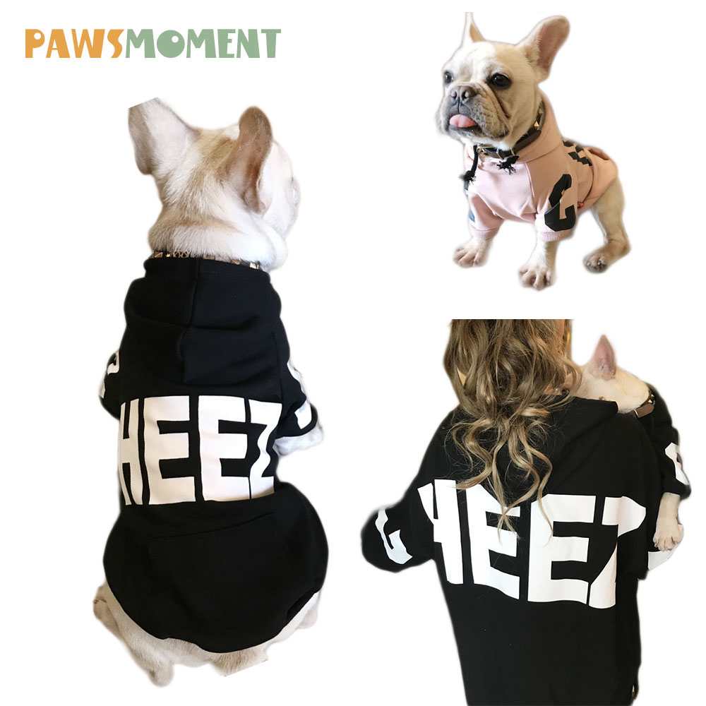 New Parent-child Dog Clothes For Small Dogs Cotton Coat Hoodies Outfit For French Bulldog Dogs Spring Winter Pet Dog Costume