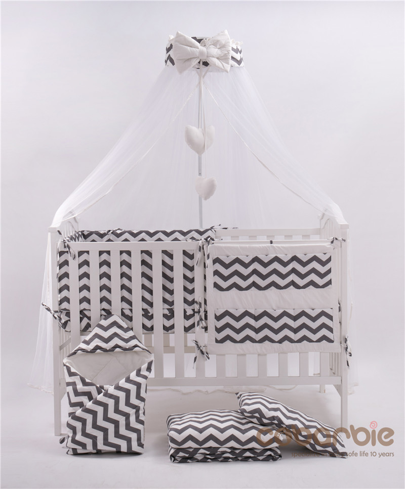 Kvalitet Baby toddler spædbørn børneseng Mosquito Net sommer barneseng sengetøj net dør type med ramme