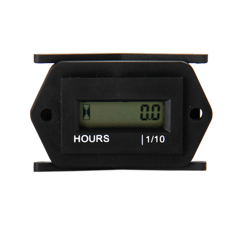 Waterproof snap in DC 4.5 12v 24v 36v 48v 60V Hour Meter counter for generator Marine ATV Motorcycle Snowmobile boat jet ski UTV