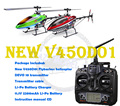 Walkera nueva V450D01 generación II 6 Axis Gyro Flybarless 6CH helicóptero w / DEVO 10 transmisor RTF