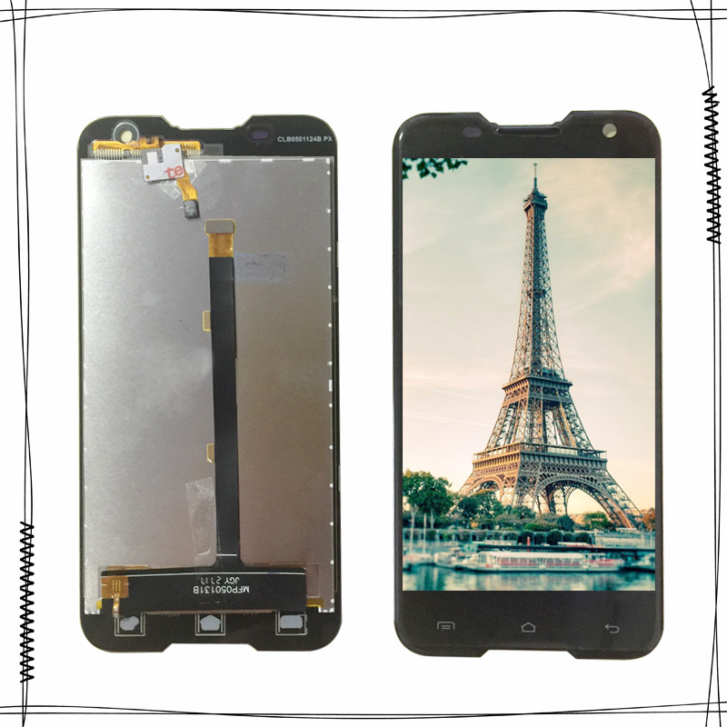 5.0 pollice Per Blackview BV5000 Display LCD + Touch Screen Digitizer Assembly di Ricambio 1280X720