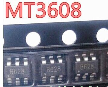 50 PCS/LOT MT3608 SOT23-6 B628 Original electronics IC kit