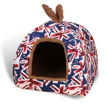 Fashionable, convertible winter dog house/bed