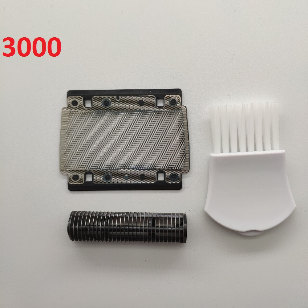 1 X Shaver Foil + 1 X Blade For Braun 3000 (3600) Series 3731 3732 3305 3310 3315 3615 5634 5628 Electric Shaver Razor BladeHead