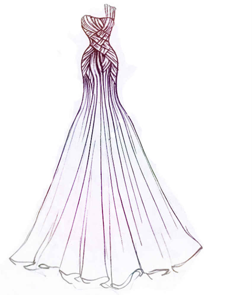 PANFELOU Buổi Tối ăn mặc váy cưới thủ công kim loại giấy chết cắt chết Scrapbooking/DIY Dập Nổi Valentine thẻ Ngày của