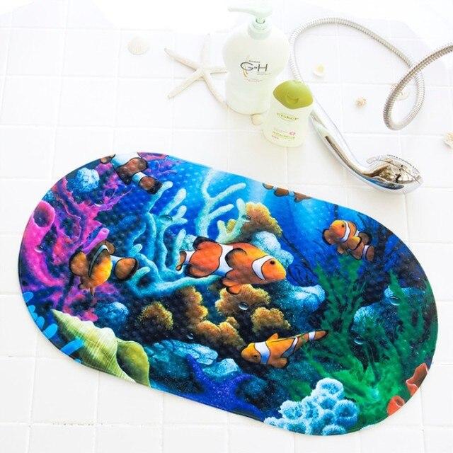 High Quality Cartoon Animal Shape PVC Non- Slip Bath Mat Bathtub Mat Shower Mat