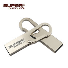 Metal USB Flash Drive 64 gb thumbdrive 4GB 8GB Pendrive 32gb Flash Memory Stick 128 gb waterproof Pen Drive 16GB usb disk on key(China)