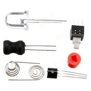 Image 5 - 5Pcs/lot DIY FLA 1 Simple Flashlight Circuit Board Electronic Kit DIY Parts Kit