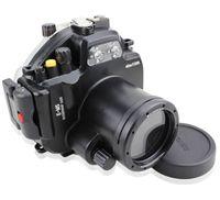 Meikon 40メートル防水水中カメラハウジングケース用オリンパスomd em5 12〜50ミリメートル
