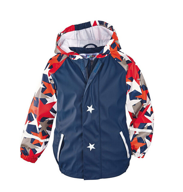 Jackets For Boys Children Hoodies Kids Outerwear Spring Autumn Clothes Baby Windproof Clothes Kids Waterproof Outercoat