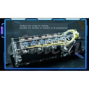 Image 4 - Un modelo de motor electroimán se puede usar para lanzar un motor de velocidad alta, un motor de automóvil, un motor Tipo V.